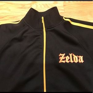 Jackets & Blazers - Nintendo Zelda Black Zipper Jacket